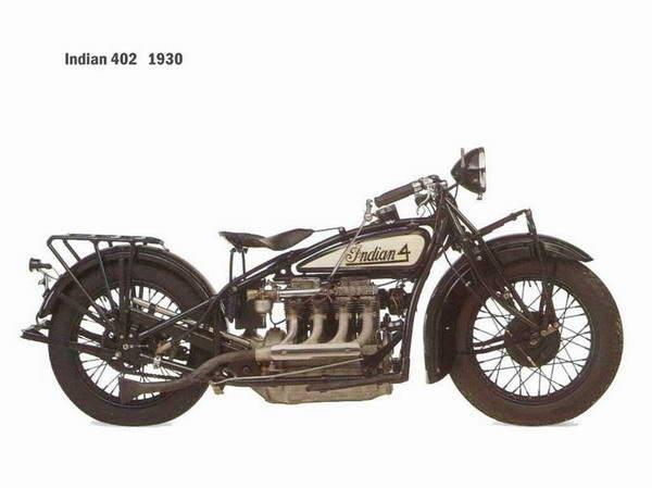 Мотоциклы Indian 402