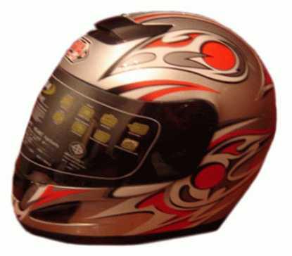 Выбор мотоциклетного шлема: Открытый мото шлем